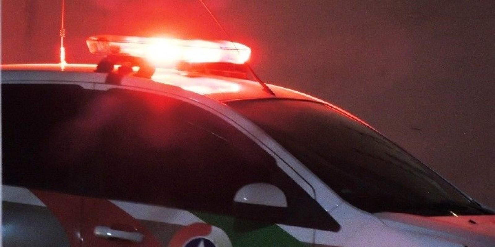 Filho ameaça os pais e acaba preso em Braço do Norte