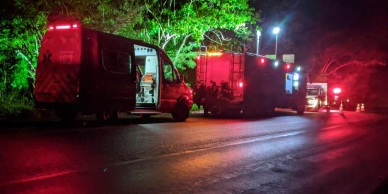 Grave acidente deixa dois mortos e quatro feridos em Braço do Norte