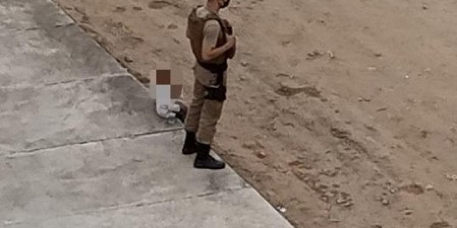 Atitudes de policial militar com criança repercutem nas redes sociais