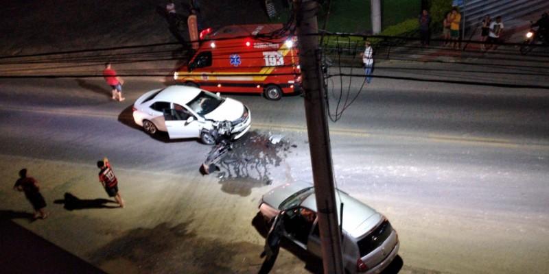 Vídeo: colisão frontal é registrada neste domingo em São Ludgero