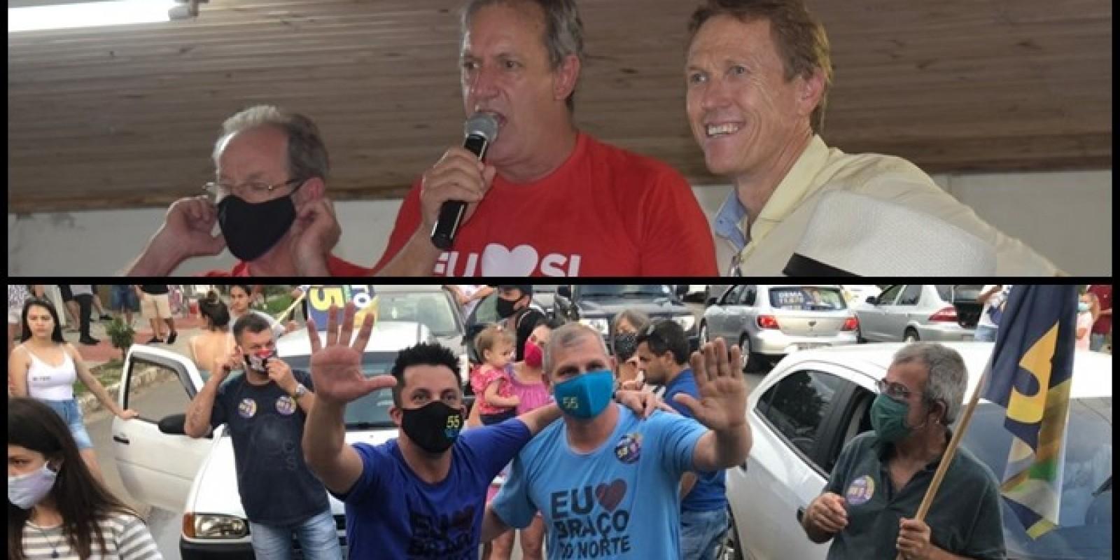 Confira os prefeitos eleitos na Amurel