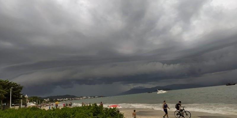 SC tem previsão de chuvas mais volumosas nesta quinta-feira