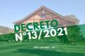 São Ludgero: publicado Decreto Nº 13/2021 referente medidas para enfrentamento a Covid-19