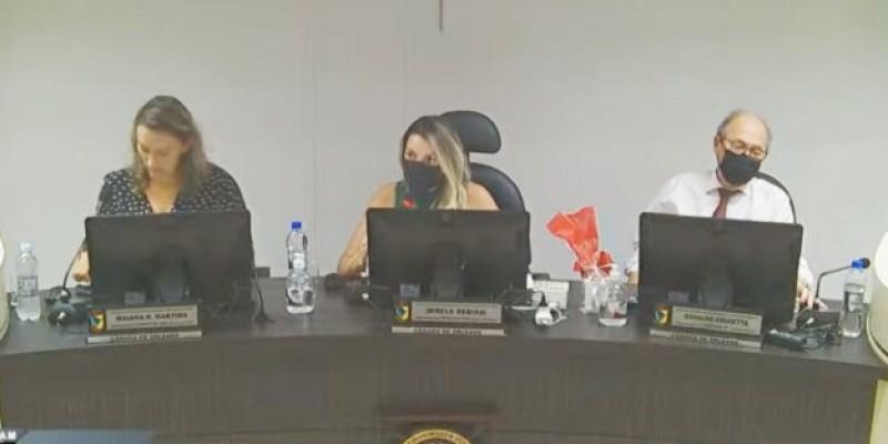 Transcorreu tranquila a Sessão Legislativa da Câmara de Vereadores de Orleans