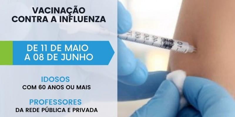 Inicia nova etapa da vacinação contra Influenza