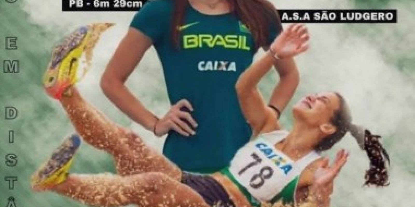 Andriele Raiana Zander é São Ludgero no Troféu Brasil de Atletismo Adulto