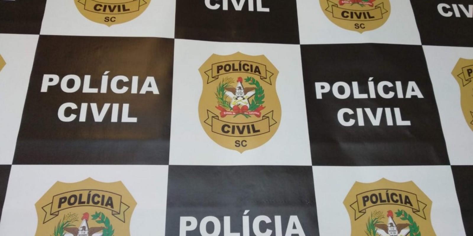 Braço do Norte: Duas pessoas são presas pela Polícia Civil com sentença condenatória
