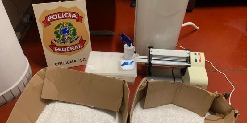 Laboratório de cocaína é descoberto em área rural