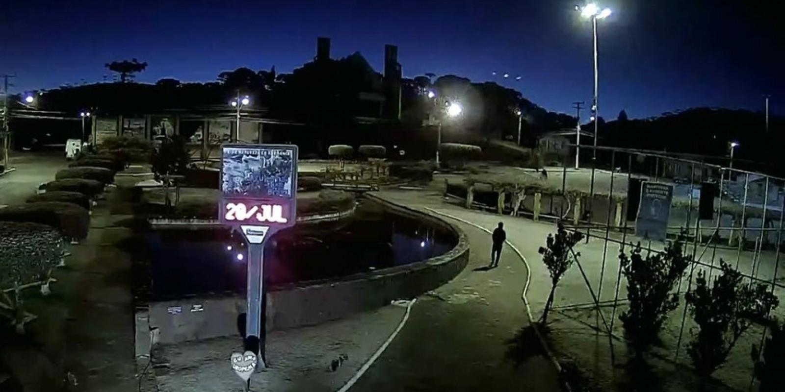 Com amanhecer gelado, SC registra -8°C em cidade da Serra