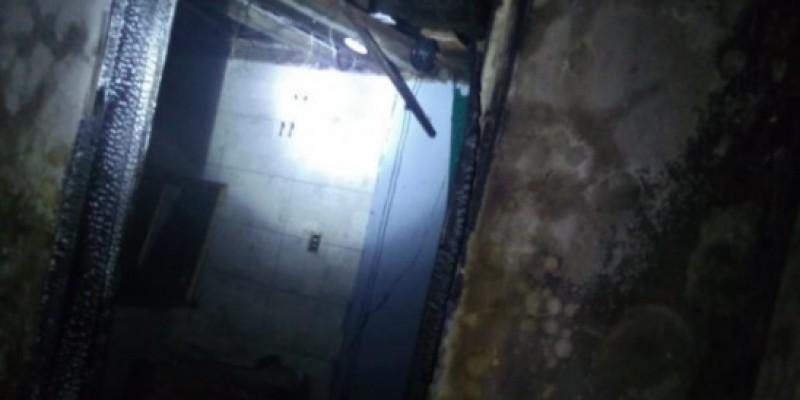 Incêndio destrói veículo e atinge residência em Imbituba