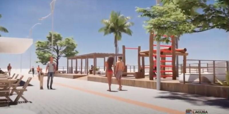 Revitalização da orla do Mar Grosso custará R$ 5 milhões em Laguna