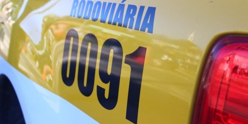 PMRv de Cocal do Sul realiza fiscalização e aborda 50 veículos na SC-108