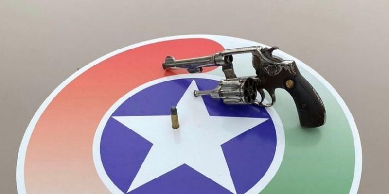 Jovens são presos após disparo de arma de fogo, em Braço do Norte