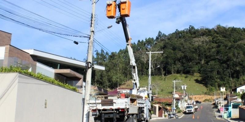 Cegero segue realizando melhorias nas redes de distribuição
