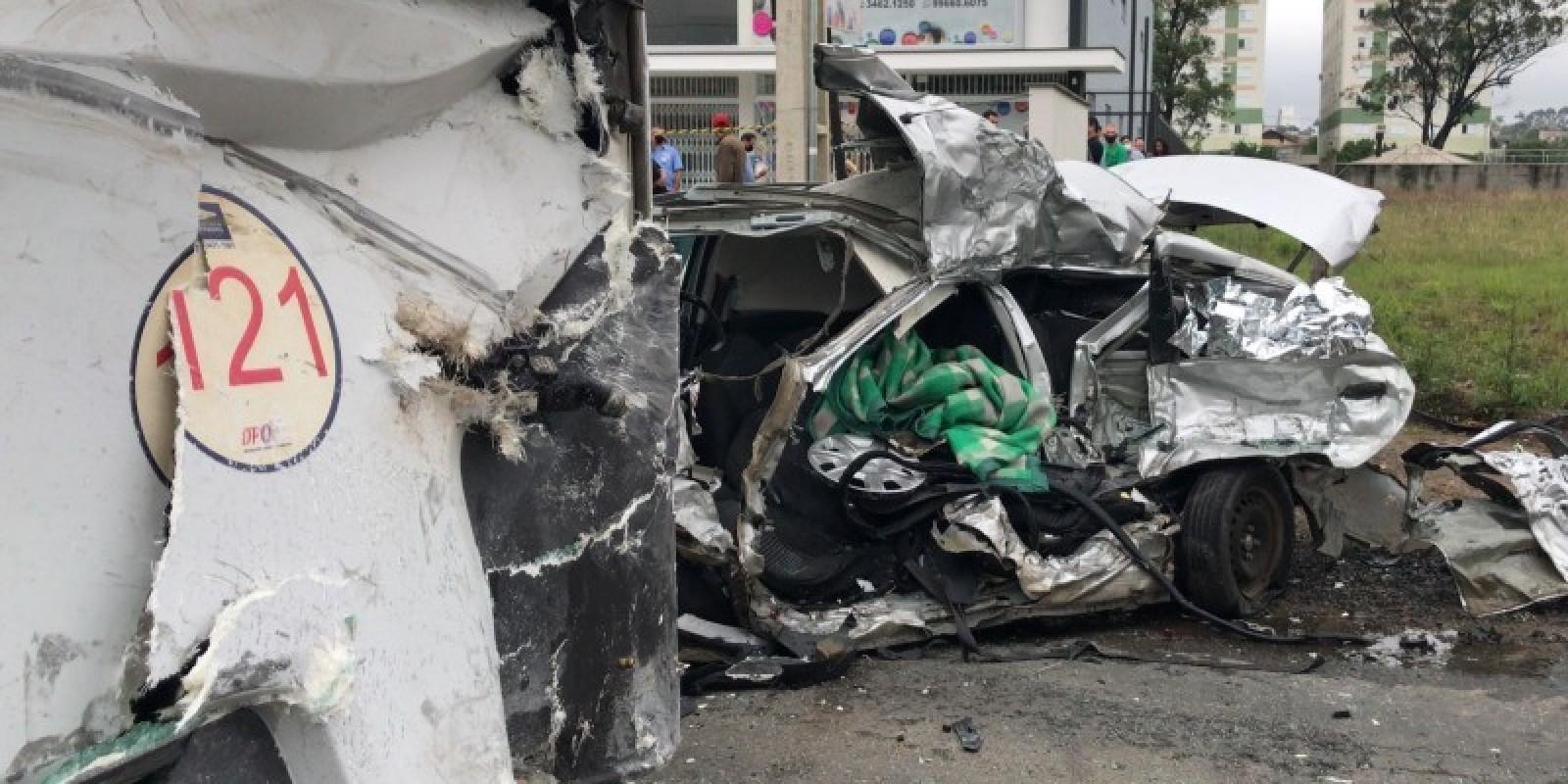 Identificado motorista que morreu em grave acidente no bairro Próspera