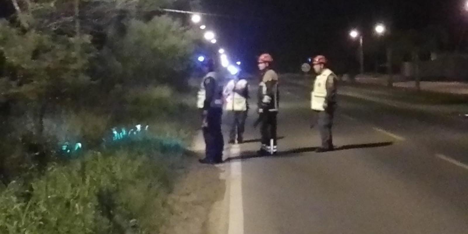 Idoso é resgatado pelos bombeiros em Morro da Fumaça após ficar perdido em área de mata