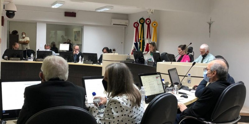Sessão Ordinária do dia 06 de Setembro na Câmara de Vereadores de Orleans