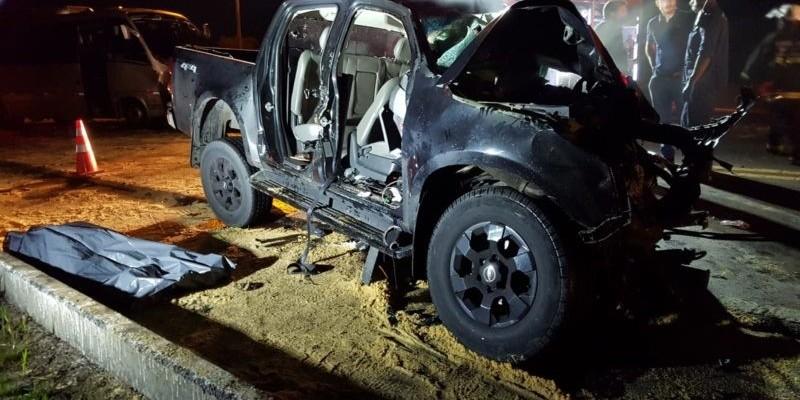 Três mortes após grave acidente entre micro-ônibus e caminhonete na BR-282, em Lages