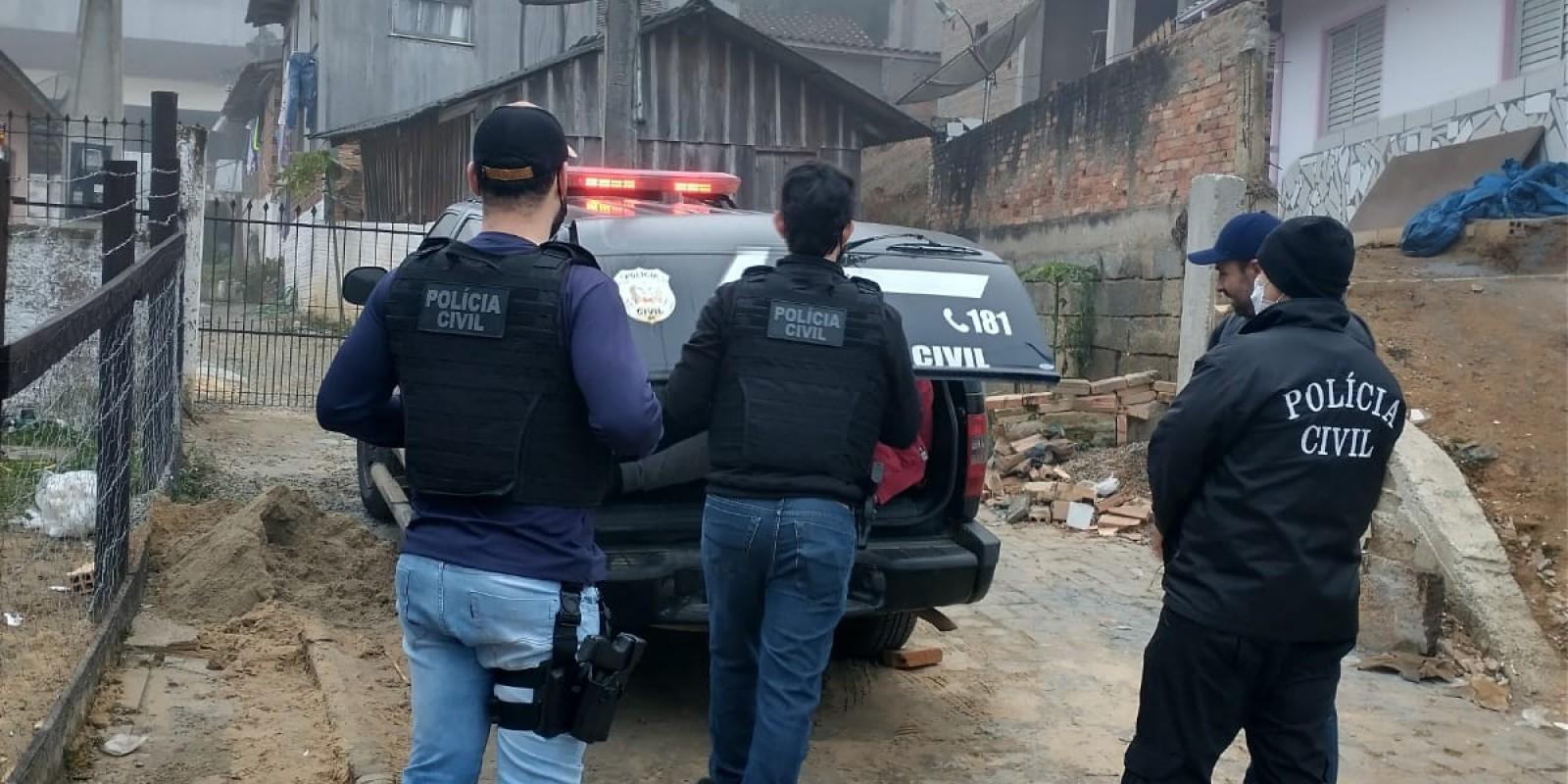 Polícia Civil prende autor de tentativa de homicídio em São Ludgero