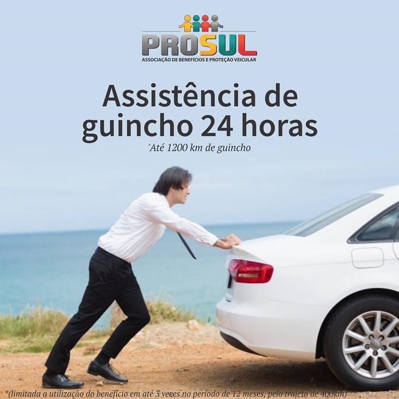 Na Prosul associação de benefícios e proteção veicular você conta com uma assistência de guincho 24 horas.