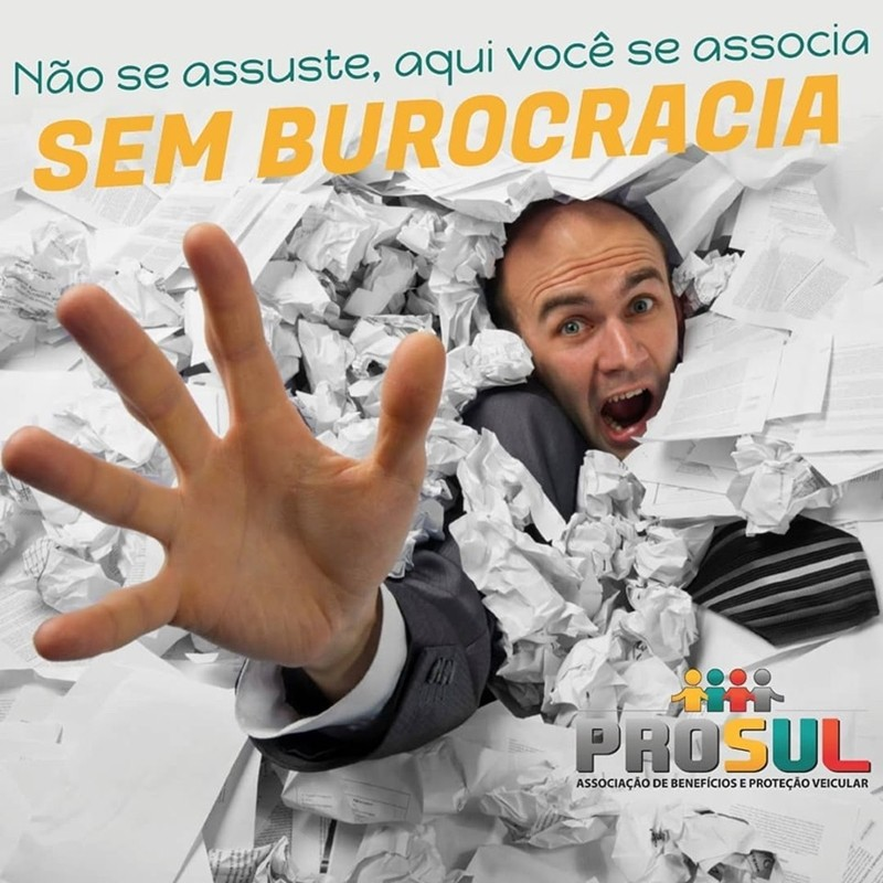 SEM BUROCRACIA! Uma associação de Proteção Veicular oferece serviços com uma burocracia bem reduzida.