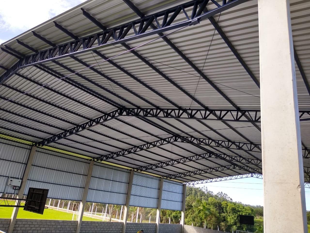 Telhados - Estrutura Metálica