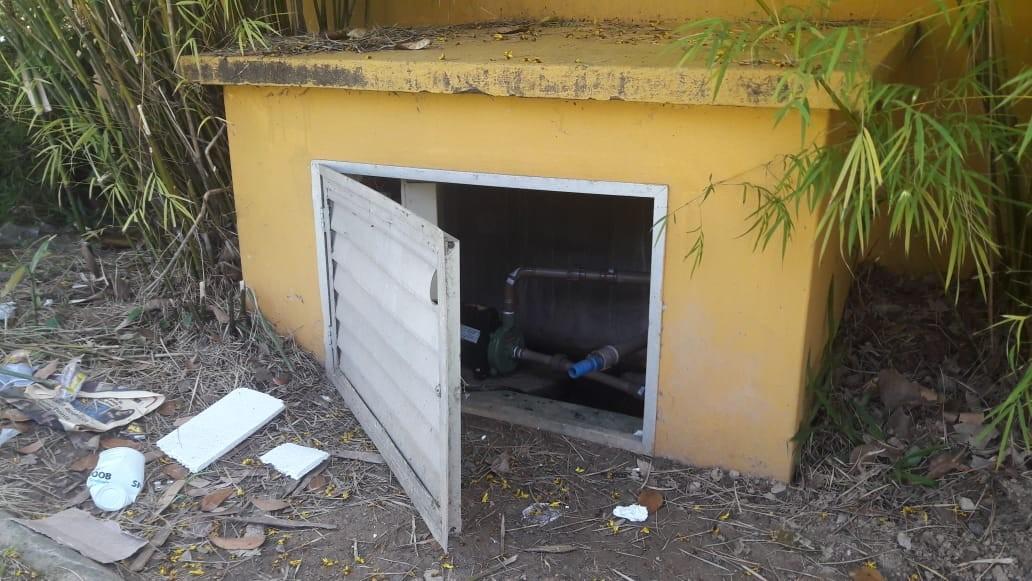 Constatado arrombamento na casa de máquina de memorial em São Ludgero
