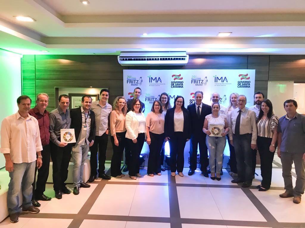 São Ludgero é reconhecido em Prêmio Ambiental