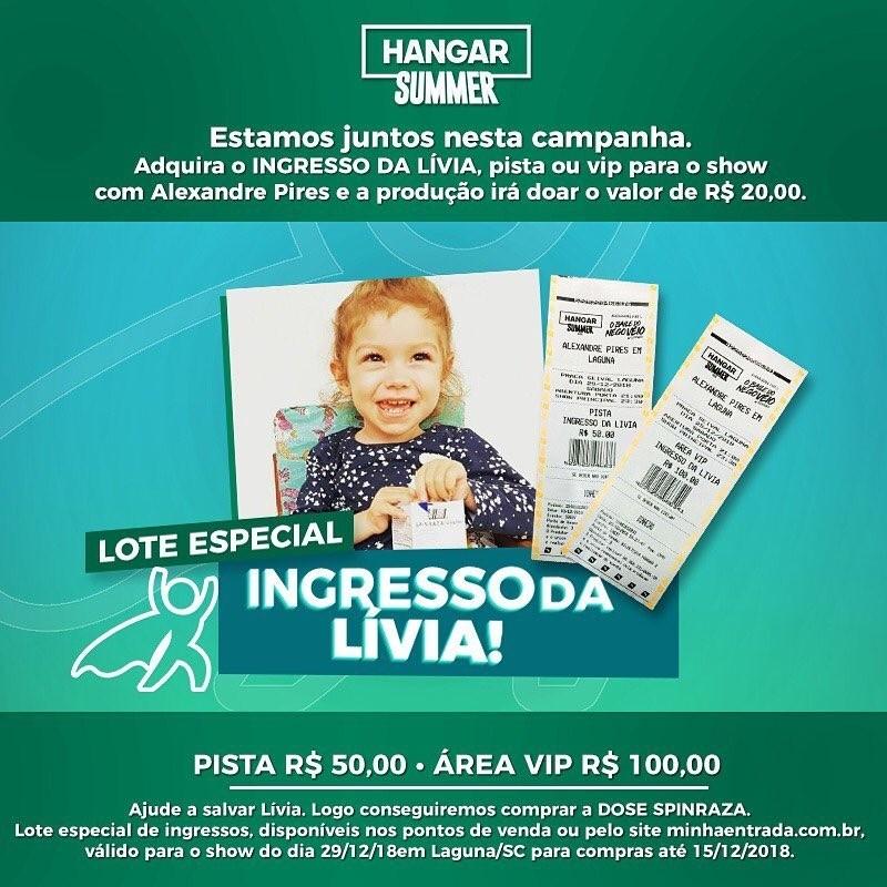 Lívia Alves Locks: Campanha ganha reforço do cantor Alexandre Pires