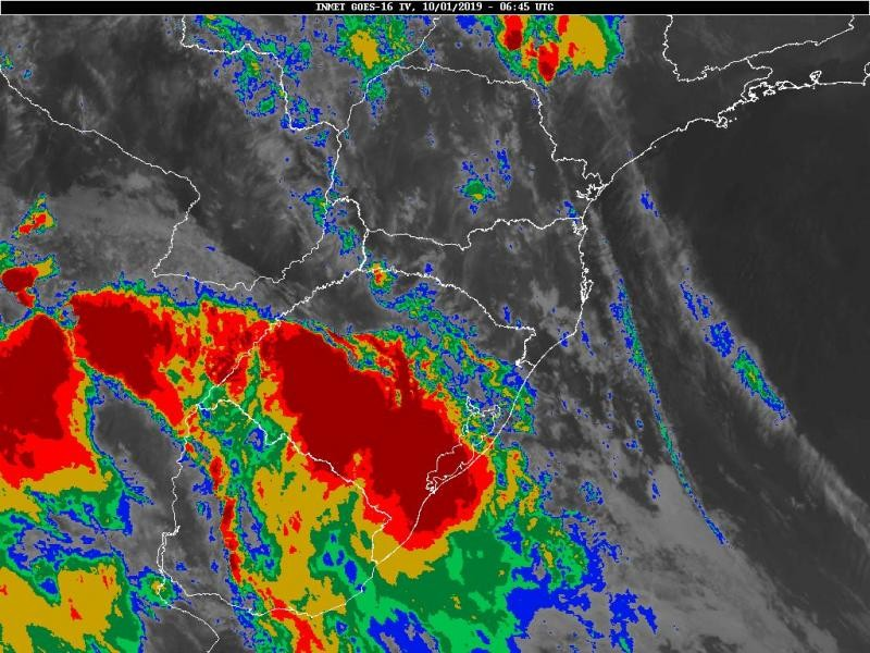 Quinta-feira pode marcar até 39°C no Sul de Santa Catarina
