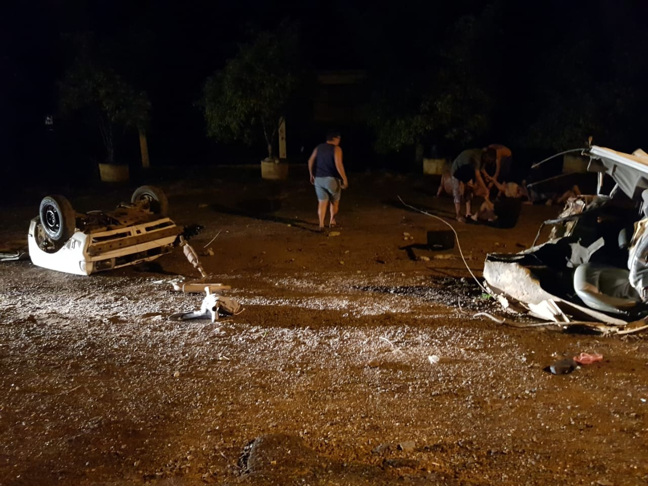 Acidente gravíssimo é registrado em São Ludgero