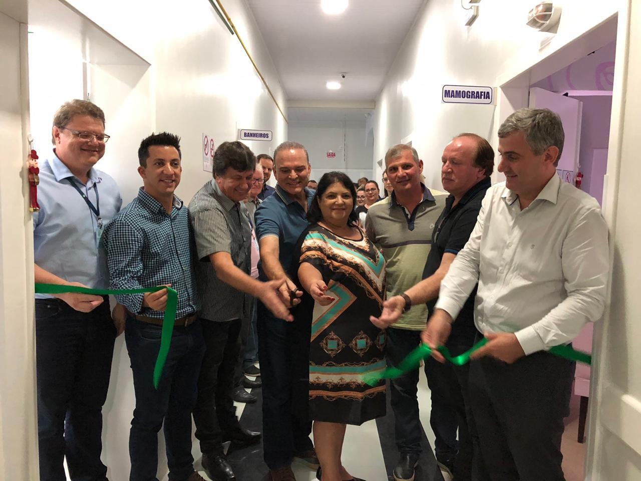 HST inaugura novos equipamentos