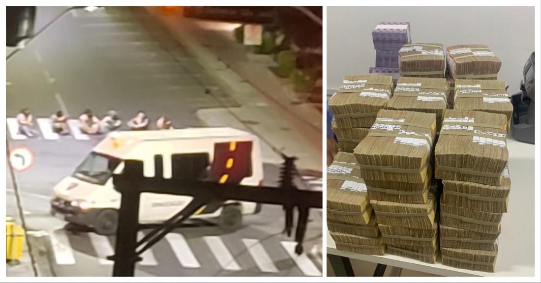 Vídeos: assalto a bancos de Criciúma é marcado por tiroteios
