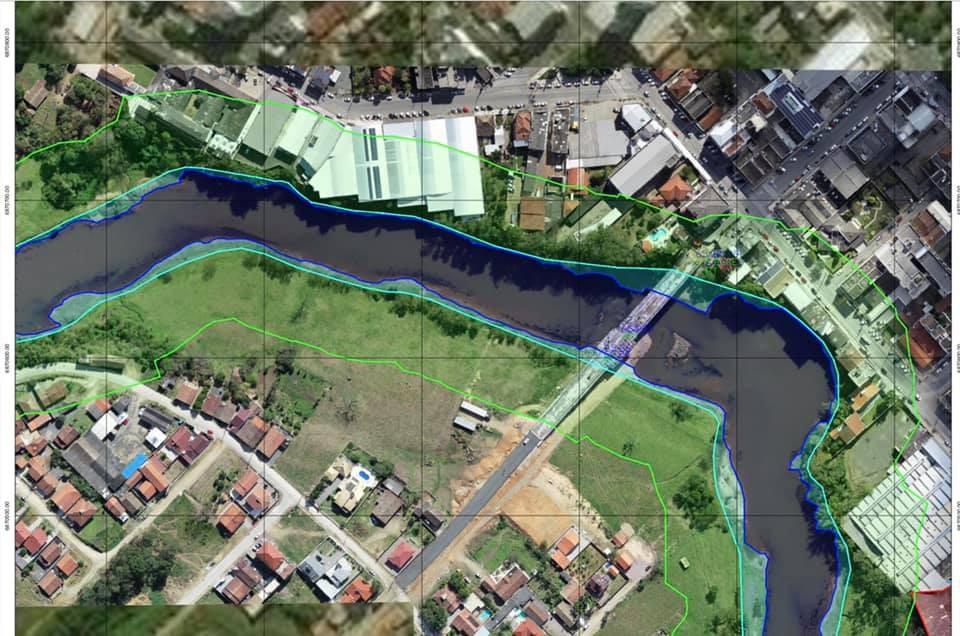 BN deve ganhar parque linear com píer às margens do Rio Braço do Norte