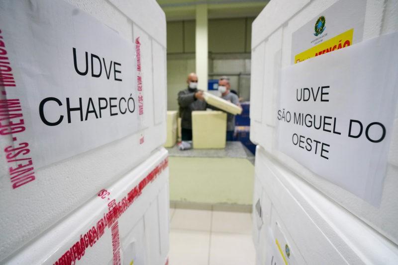 Santa Catarina é o 5º Estado que mais vacinou contra a Covid-19