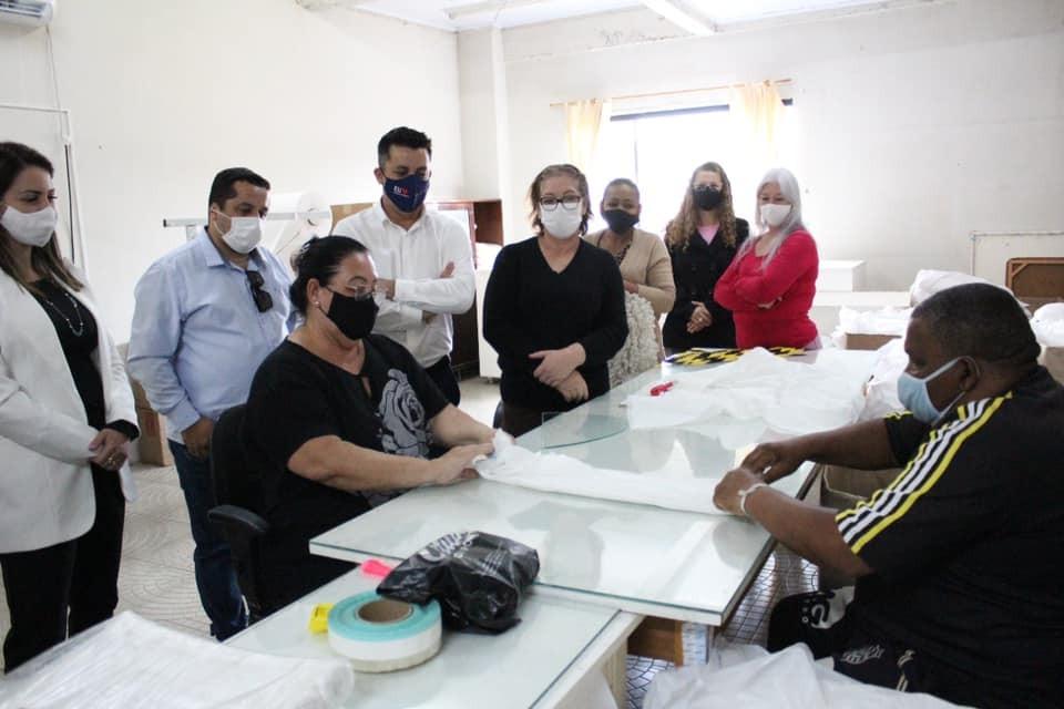 BN: fabricação de fraldas descartáveis da Assistência Social é referência no Estado
